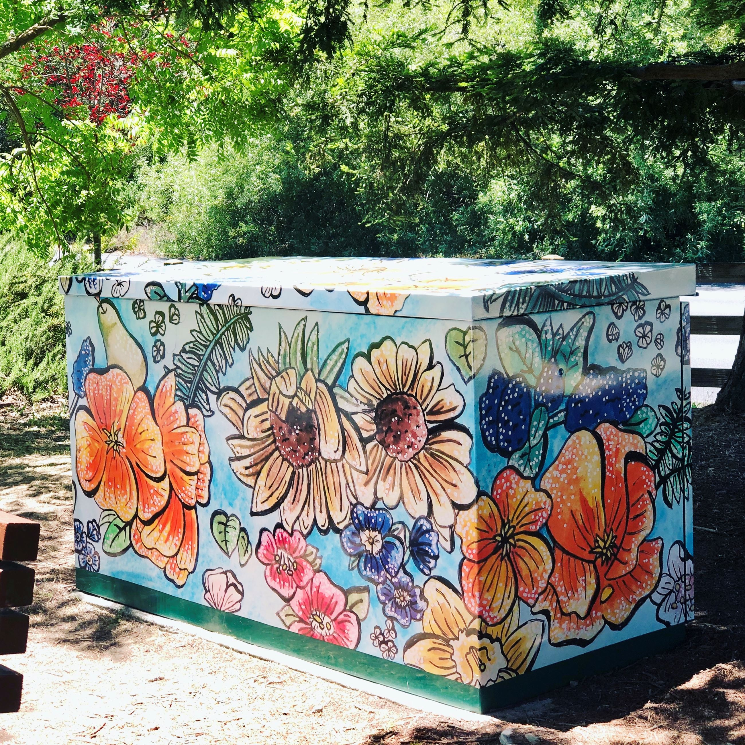 Utility Box - Moraga Commons