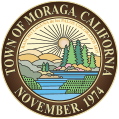 Town of Moraga California - November 1974